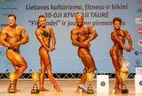 Tauragėje surengtos IFBB Lietuvos taurės varžybos ir jaunimo pirmenybės