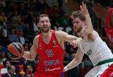 Latvis vedė CSKA į pergalę