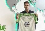 """Oficialu: """"Wolfsburg"""" įsigijo patyrusį gynėją, """"Inter"""" klubo krašto puolėjas persikėlė į Čekiją"""