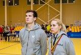 E.Stuckytė ir A.Udra vėl tapo Lietuvos stalo teniso čempionato nugalėtojais