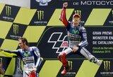 """J.Lorenzo laimėjo ketvirtą """"MotoGP"""" etapą iš eilės ir iki minimumo priartėjo prie V.Rossi"""