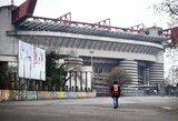Koronavirusas koreguoja planus: italai toliau žiūrės futbolą tik per televizorių