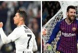 """T.Cahillo verdiktas: C.Ronaldo nusipelnė labiau laimėti """"Ballon d'Or"""" apdovanojimą nei L.Messi"""