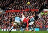 """Buvęs """"Man City"""" vadovas atskleidė istoriją apie vos neįvykusį W.Rooney persikėlimą"""