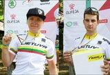 Dviratininkai K.Sosna ir Š.Pacevičius – penkiskart šalies MTB olimpinio kroso čempionai