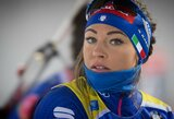 Pasaulio biatlono taurės sezone auga įtampa  – dvi lyderes skiria tik 5 taškai
