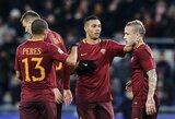 """""""Roma"""" sudaužė Genujos klubą ir komfortabiliai žengė į Italijos taurės ketvirtfinalį"""