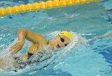 R.Meilutytė ir dar trys lietuviai prasibrovė į penkis varžybų Slovakijoje finalus