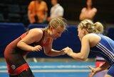 """Europos jaunimo imtynių čempionate Lietuvos """"laisvūnai"""" ir merginos liko be medalių"""