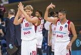 M.Kuzminskas ir M.Kalnietis kartu surinko 12 taškų