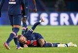 PSG galvos skausmas: aiškėja Neymaro traumos sunkumas