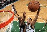 """K.Durantas: """"Antetokounmpo gali tapti visų laikų geriausiu krepšininku"""""""