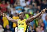 """U.Bolto pareiškimas: """"Laikas pagerinti pasaulio rekordą"""""""