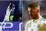 Pamatykite: S.Ramosas atšventė įvartį C.McGregoro ir C.Ronaldo stiliumi