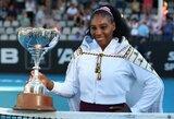 Pralaimėtų finalų seriją nutraukusi S.Williams triumfavo Oklende