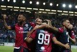 """""""Cagliari"""" namuose susitvarkė su """"Genoa"""""""