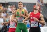 Sprinteris G.Truskauskas Turkijoje pasiekė geriausią Lietuvos sezono rezultatą