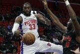 """""""Bulls"""" ir """"Pistons"""" apsikeitė žaidėjais, kurie jau šį sezoną buvo iškeisti"""