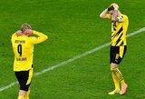 """E.Haalandas po pralaimėjimo prieš """"Bayern"""" linčiavo save dėl neišnaudotų progų"""