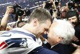 """""""Patriots"""" susigrąžino NFL čempionų titulą, T.Brady įrašė savo vardą į istoriją"""