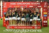 Finale stebuklą sukūrę PAR regbininkai triumfavo Singapūre