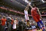 """Fantastiškas K.Leonardo metimas su sirena išvedė """"Raptors"""" į Rytų finalą"""