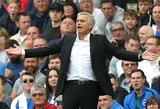 """Prieš rungtynes su """"Tottenham"""" J.Mourinho giria """"Manchester United"""" sirgalius, bet ne žaidėjus"""