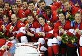 Olimpiniame finale dominavę Kanados ledo ritulininkai apgynė čempionų titulą
