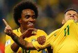 Paaiškėjo, kas Brazilijos rinktinėje pakeis susižeidusį Neymarą