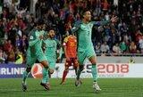 """Pasaulio čempionato atranka: C.Ronaldo """"ištraukė"""" portugalus prieš kuklią Andorą, Olandija vargo su Baltarusija"""