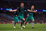 """Bekompromisė kova dėl Čempionų lygos pusfinalio: septynių įvarčių trileryje """"Tottenham"""" eliminavo """"Manchester City"""""""