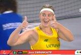 Disko metikė I.Zarankaitė Universiadoje iškovojo Lietuvai pirmąjį medalį!