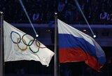 Paviešinta tyrimo medžiaga: visiems rusams gresia pašalinimas iš Rio de Žaneiro olimpiados (atnaujinta)