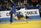Pirmoji Lietuvos atstovė pasaulio jaunimo dziudo čempionate liko be pergalių