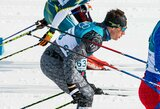 Latvijoje surengtas atvirasis Lietuvos slidinėjimo čempionatas