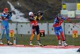 Pasaulio biatlono taurės etapo persekiojimo lenktynėse N.Kočergina finišavo 55-a