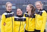 14-metės stebuklas: I.Daujotaitė padovanojo pergalę Lietuvos moterų teniso rinktinei