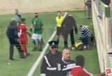 Teisėjo asistentą aikštėje sumušęs maltietis turės ilgam pamiršti futbolą