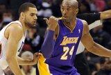 """Į """"Lakers"""" gretas jau netrukus po traumų gali grįžti K.Bryantas ir S.Nashas"""