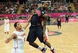 Kaip Tuniso rinktinės krepšininkas K.Bryanto parašo prašė