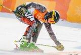 Kalnų slidininkas A.Drukarovas Italijoje iškovojo bronzą