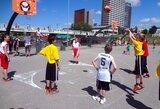 Vilniaus krepšinio mokykla pristatė programą Tarptautinės olimpinės dienos renginyje