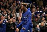 """Europos lyga: po keturis įvarčius varžovams atriekę """"Chelsea"""" ir """"Eintracht"""" laimėjo penktą kartą iš eilės"""