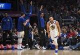 S.Curry per tris kėlinius pagerino sezono taškų rekordą