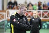 """Lietuvos teniso rinktinės treneris R.Mugevičius: """"Džiaugiuosi, jog vėl turėsiu pajėgiausios sudėties komandą"""""""
