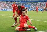 """W.Rooney apie """"Man United"""" bandymą įsigyti H.Maguire'ą: """"Jis būtų geras pirkinys"""""""