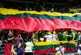 Lietuvos krepšinio rinktinė Belgijoje sulauks aktyvaus sirgalių palaikymo