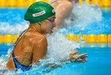 R.Meilutytė pasaulio taurės varžybose Maskvoje iškovojo pirmąjį medalį!