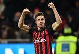 """Italijoje neklumpantys """"Milan"""" iškovojo jau penktą pergalę iš eilės"""