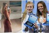 """J.Jefimova apie pergalę finale prieš R.Meilutytę: """"Treneris sumaišė laiką, todėl startavau be apšilimo"""""""